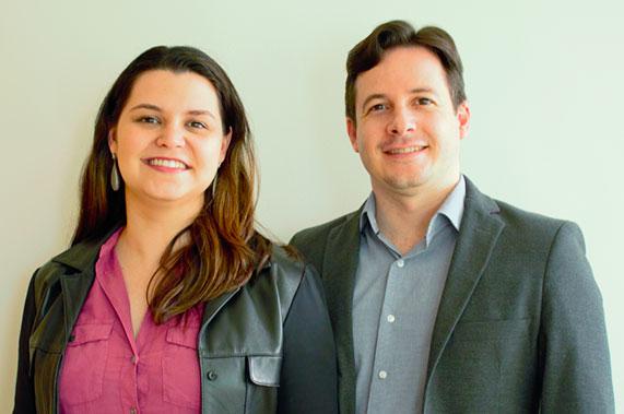 Marcia Belmiro e Pedro Beltrão